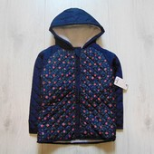 Новая демисезонная куртка для девочки. Pep&Co (Англия). Размер 12-18 месяцев