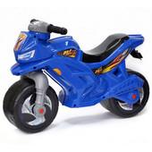 Мотоцикл-беговел 2-х колесний синий Орион 501