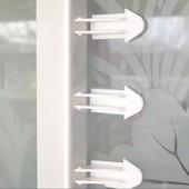 Защита замок на роздвижные двери, шкафы-купэ для безопасности детей