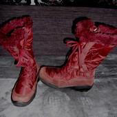 Сапожки-ботинки Everest,замша-мембрана,37 размер