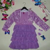 Платье+болеро Eiva 5-6л(110-116см)Мега выбор обуви и одежды!