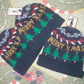 Новогодние шапки.Теплые зимние.Испания.Alcott.Оригинал.8евр