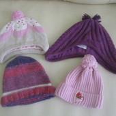 шапки теплые на 1-3года