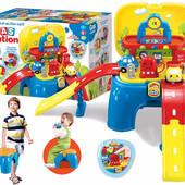 """Детский игровой набор """"Автозаправочная станция"""" для юных автомобилистов 008-806"""