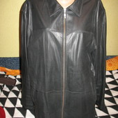Куртка кожаная,утеплённая,р.52-54.Angelo Litrico (Анжело Литрико).