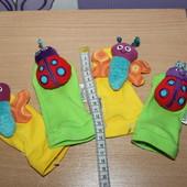 Развивающие носочки - игрушки погремушки lamaze сост отличное