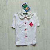 Новая трикотажная блуза для девочки. Nick et Pouf. Размер 18 месяцев