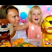 Веселая игра Собака-кусака и Злой лев