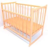 Кроватка-качалка детская деревянная №3