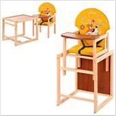 Стульчик для кормления трансформер деревянный МV-010-23-6
