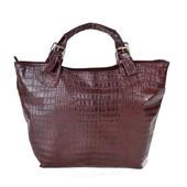 Женская сумка под крокодила