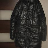 Куртка-- пальто на рост 136-140