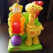 Продам развивающую игрушку Мартышка и Жираф Playskool