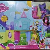Замок для пони My little Pony + пони + аксессуары