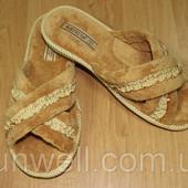 Женские тапочки Белста с открытым носком, махра р-р 36-41