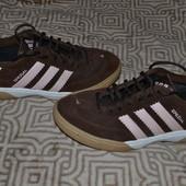 замшевые кроссовки Adidas оригинал 25. 5 см стелька в идеале