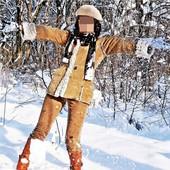 зимняя куртка (дублёнка) new look