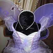 Карнавальный костюм сиреневая Бабочка
