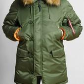 Куртка Olymp Alyaska Slim fit, р. S-5xl, зима -30c, код cve-0005