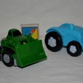 Машинка машина трактор к Конструктору Mega Bloks Мего Блокс