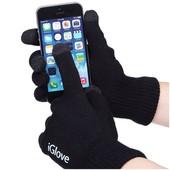 Сенсорные перчатки iglove от ТМ Корона. Универсальный размер для подростков и взрослых