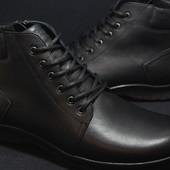 Зимние ботинки 46,47,48 размер,Prime,натуральная кожа,шерсть