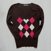 Стильный свитерок для девушки. Рукав три четверти. M&S. Размер 8 (s). Состояние: идеальное