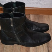 Кожаные деми ботинки Guess 42р, оригинал