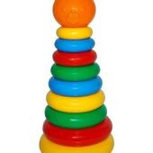 Развивающая игрушка Пирамидка 30см