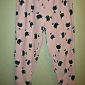 Суперовые, плюшевые, домашние, пижамные штаны. размер 18/20