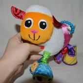 Развивающая игрушка подвеска на коляску кроватку - барашик баранчик Шерами Lamaze Ламазе