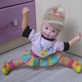 Кукла болельщица гимнастка toy biz