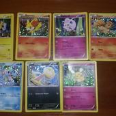 Покемоны (карточки) из Макдональдс - 5 грн
