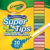 Смывающиеся фломастеры Crayola 20 шт