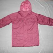 коллекция 2016! Термокуртка парка, р.152-158, Quechua, Франция, теплая зимняя куртка
