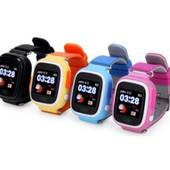 Детские часы Smart watch Q100 c gpsтрекером