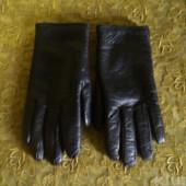 Кожаные перчатки,сост идеальное