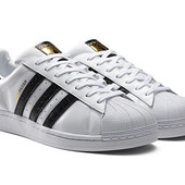 Кроссовки Adidas Superstar, р. 36-45, кожа, код mvvk-1127