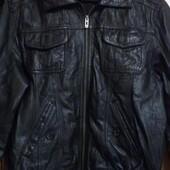 Брендовая куртка из натуральной кожи