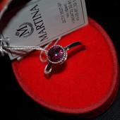 Серебряное кольцо 925 пробы размер 18,5см, новое, проба, бирка