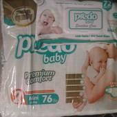 Подгузники детские Predo baby mini (2) +влажные салфетки(72)