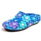 100-RO-5S-004 Новинка! тапочки женские домашние Inblu цвет - св.синий, размеры 35-41