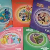 Новые книги Дисней (Disney). Украинский язык. Большой ассортимент. Скидки