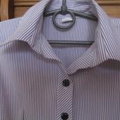 Нежная сиреневая рубашка