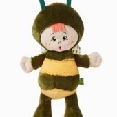 Пчелка крихітка, бджілка тм левеня мягкие игрушки