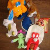 Мягкие игрушки в состоянии новых