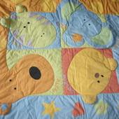 Развивающий коврик-одеяльце