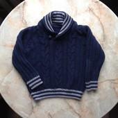 Стильный свитер на мальчика на возраст 2-3 года (можно до 4)