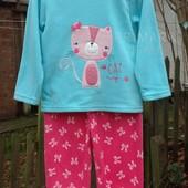 Флисовая пижама для девочки (86 см) Primark