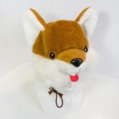 Карнавальный костюм лисички, детская шапочка и маскарадный жилет